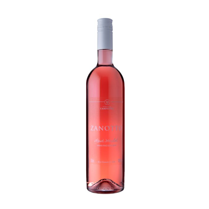 Vinho Fino Rose Merlot Zanotto - 750 ml