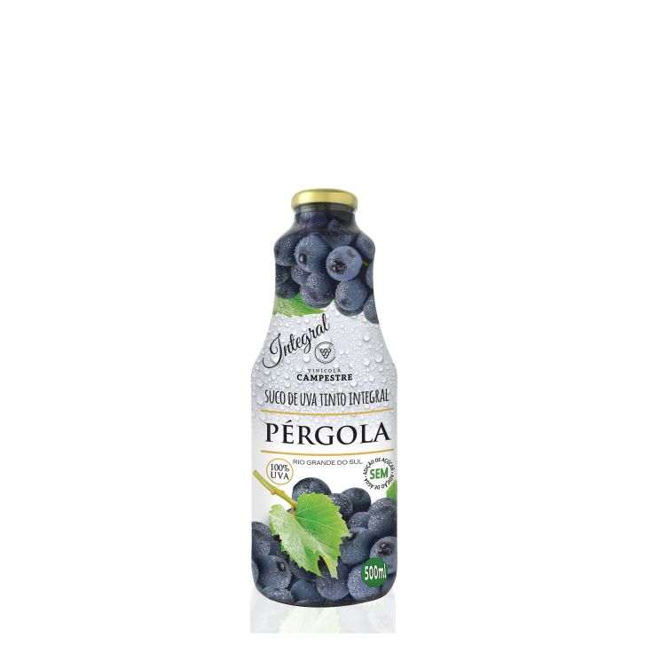 Suco de Uva Tinto Integral 500ml