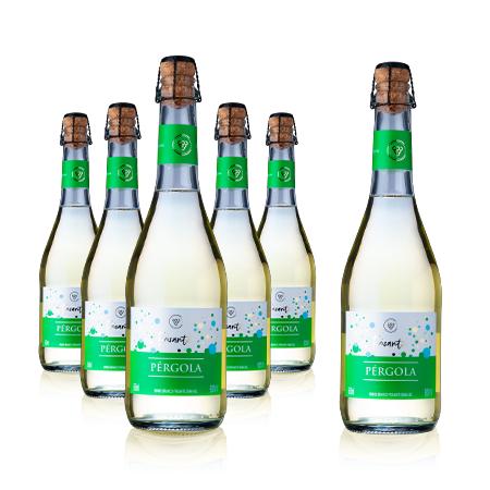 Pack Vinho Branco Fino Demi Sec Frisante Pérgola - Compre 6 Pague 5